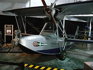 Savoia-Marchetti S.56 - Savoia-Marchetti S.56 in the Cradle of Aviation Museum. This is one of two surviving planes.