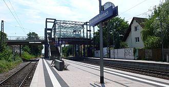Heidelberg-Kirchheim/Rohrbach station - Platforms