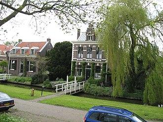 Schellingwoude - The village's historical centre