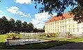 Schlossgarten Osnabrück mit Springbrunnen und Blumen, Universität Osnabrück UOS, Schloss, Schlosspark, 2015 Sommer, Foto Clemens Ratte-Polle.jpg