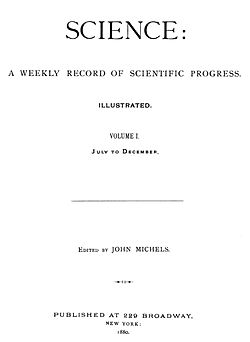 Science (journal) - Wikipedia