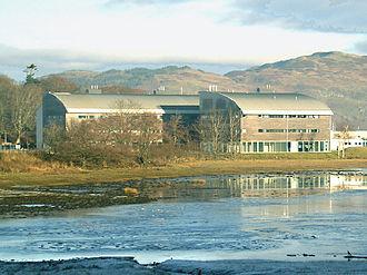 Dunbeg - Scottish Association of Marine Sciences labs