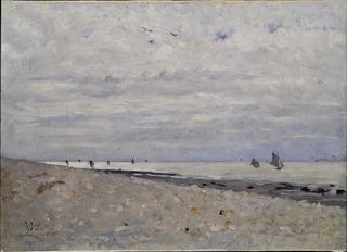 Sea Landscape off Honfleur