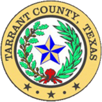Tarrant County, Texas - Image: Seal of Tarrant County, Texas