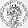 Seal of William II of Holland, King of the H.R. Empire.jpg