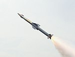 Second test of DRDO QRSAM (cropped).jpg
