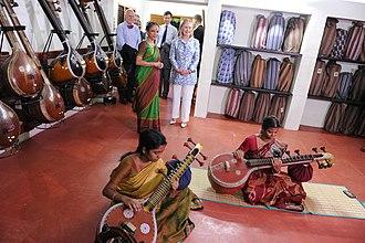 Kalakshetra Foundation - A music classroom at Kalakshetra