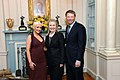 Secretary Clinton With David Novak and Christina Aguilera.jpg