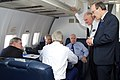 Secretary Kerry Chats With Presidential Delegation En Route to Meet new King Salman.jpg