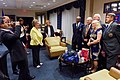 Senator Leahy, Wife Pose With Marines Who Lowered American Flag Before Return Trip to Cuba With Secretary Kerry (20378585400).jpg