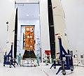 Sentinel-2A satellite - Preparing for encapsulation.jpg