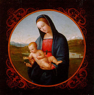 Joseph Anton Settegast - Madonna with the Christ Child (1839)