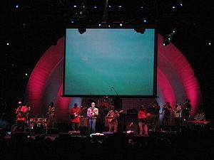 Seun Kuti - Seun Kuti and the Egypt 80 Orchestra performing at Celebrate Brooklyn 2011