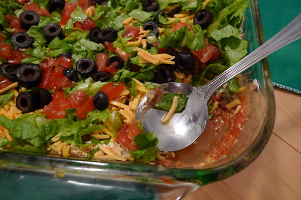 seven layer dip a seven layer dip is an american appetizer based on ...