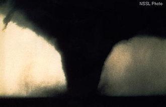 Tornado - A tornado near Seymour, Texas 1979