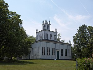 Samuel Lount - Sharon Temple located in Sharon, Ontario