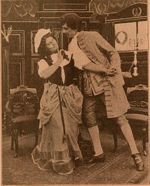 She Stoops to Conquer (1910 film) - A surviving film still