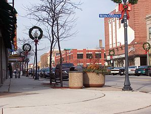 Sheboygan Downtown 8th Street