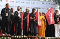 Sheila Dikshit, the President of the Indian Olympic Association and Chairman of Organising Committee, Commonwealth Games 2010 Delhi, Shri Suresh Kalmadi, the Bollywood Cine Star.jpg
