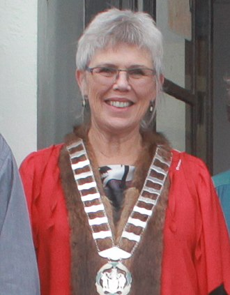 Mayor of Whangarei - Image: Sheryl Mai, Mayor of Whangarei District, May 2018