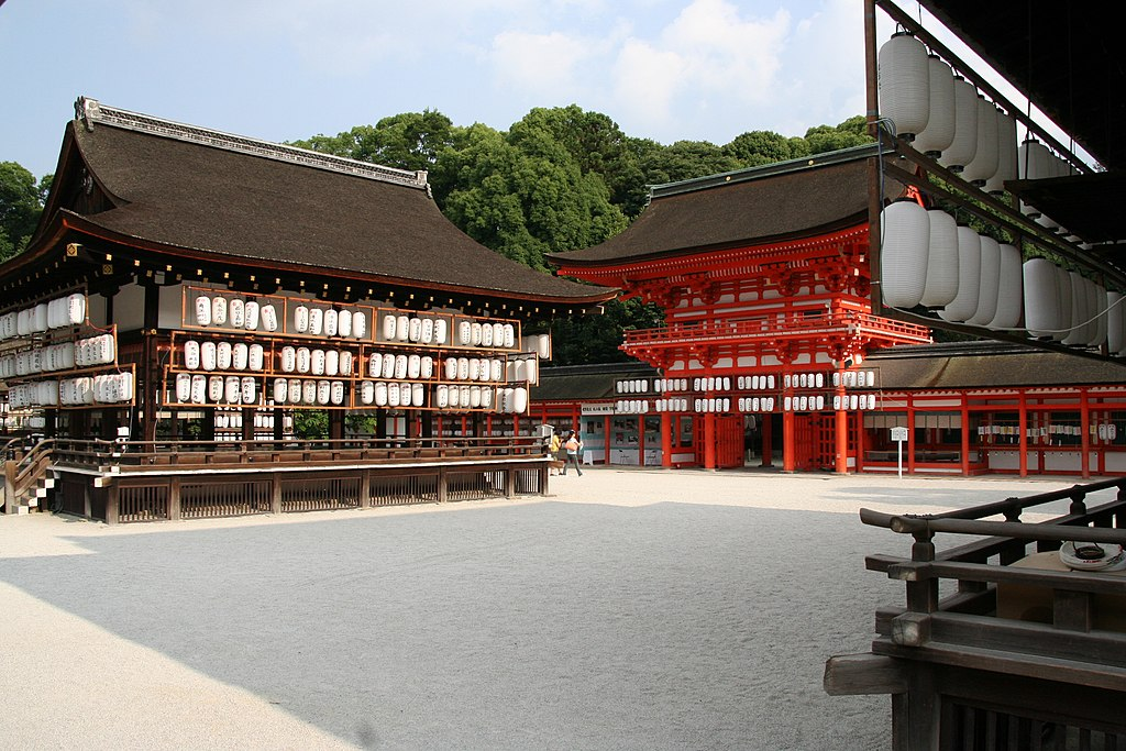 Shimogamo Shrine; August 2008 (01)