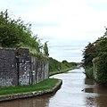 Shropshire Union Canal - old railway crossing - geograph.org.uk - 578918.jpg