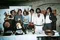 Shu-bi-dua ved receptionen for udgivelsen af albummet Shu-bi-dua 7 i 1980.