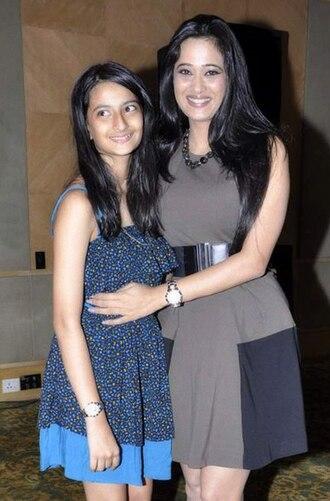 Shweta Tiwari - Tiwari and her daughter Palak in 2012