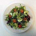 Side salad at Sainsbury's Low Hall, Chingford, London 1 top view.jpg