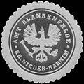 Siegelmarke Amt Blankenfelde Kreis Nieder-Barnim W0349394.jpg