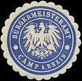 Siegelmarke Bürgermeisteramt Kamp-Rhein W0383068.jpg