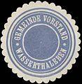 Siegelmarke Gemeinde Vorstand Wasserthaleben W0350275.jpg
