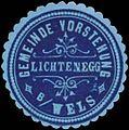 Siegelmarke Gemeinde Vorstehung Lichtenegg bei Wels W0333085.jpg