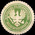 Siegelmarke Königliche Preussische Oberförsterei - Magdeburgerforth W0220184.jpg