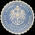 Siegelmarke K. Marine Inspektion des Bildungswesens der Marine W0364205.jpg