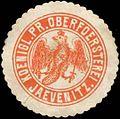Siegelmarke Koenigl. Pr. Oberfoersterei Jaevenitz W0342591.jpg
