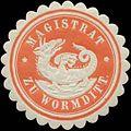 Siegelmarke Magistrat zu Wormditt W0345331.jpg