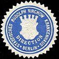 Siegelmarke Städtisches Rudolph Virchow Krankenhaus - Berlin - Direction W0210192.jpg
