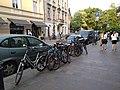 Sienna - pełny parking rowerowy - IMG 20180504 185703.jpg