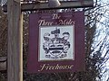 Sign for the Three Moles, Selham - geograph.org.uk - 354153.jpg