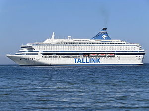 Silja Europa departing Tallinn Estonia 3 August 2013.JPG