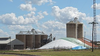 Capella, Queensland - Silos in Capella, 2016