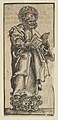 Silver Statuette of St. Peter, from the Wittenberg Reliquaries MET DP842093.jpg