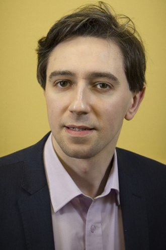 Minister for Health (Ireland) - Image: Simon Harris (official portrait) (cropped)