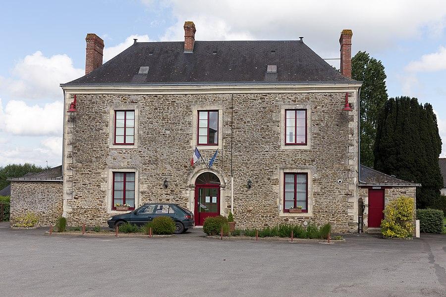 Town hall of Simplé.