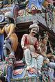 Singapore. Sri Mariamman. Gopuram. South West-13.JPG