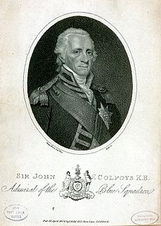 John Colpoys British Royal Navy admiral