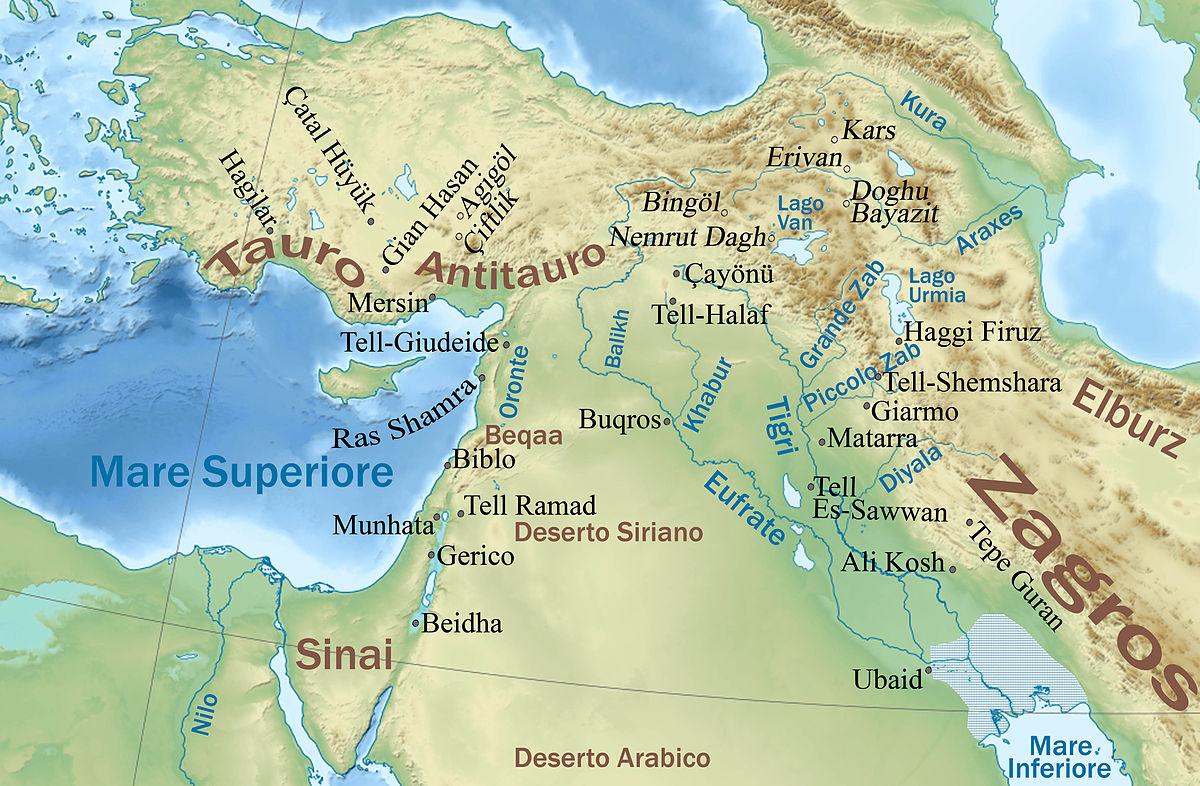 Cartina Muta Europa E Medio Oriente.Vicino Oriente Antico Wikipedia