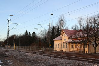 Siuntio railway station - Image: Siuntion asema