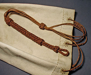 Knot - Sailor Bag with different knots.